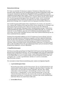 thumbnail of Datenschutzerklärung BH