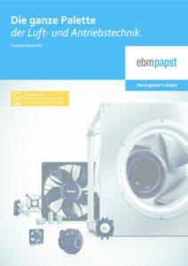 thumbnail of Produktuebersicht Ebmpapst Juni2019 DE