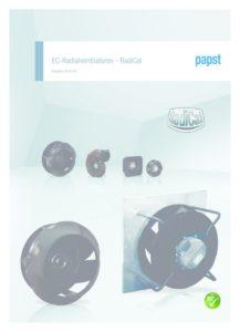 thumbnail of Katalog EC Radialventilatoren RadiCal Mai2018
